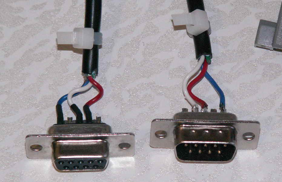 распайка RS-232 (СОМ-порт)